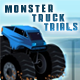 Jeu flash Monster truck trials